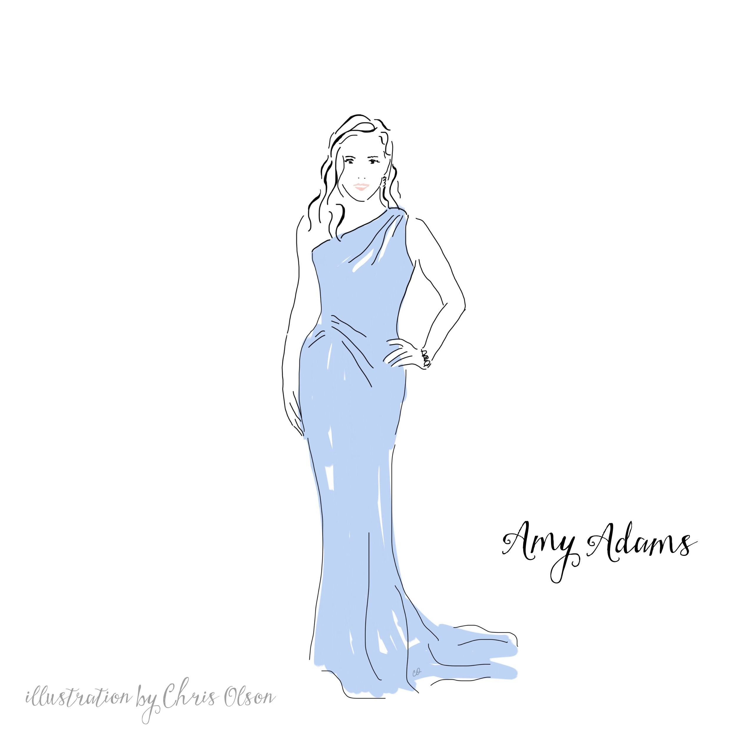 Amy Adams at Golden Globes