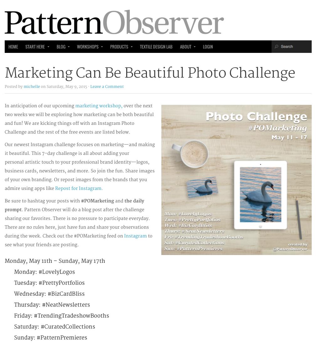 Pattern Observer Blog
