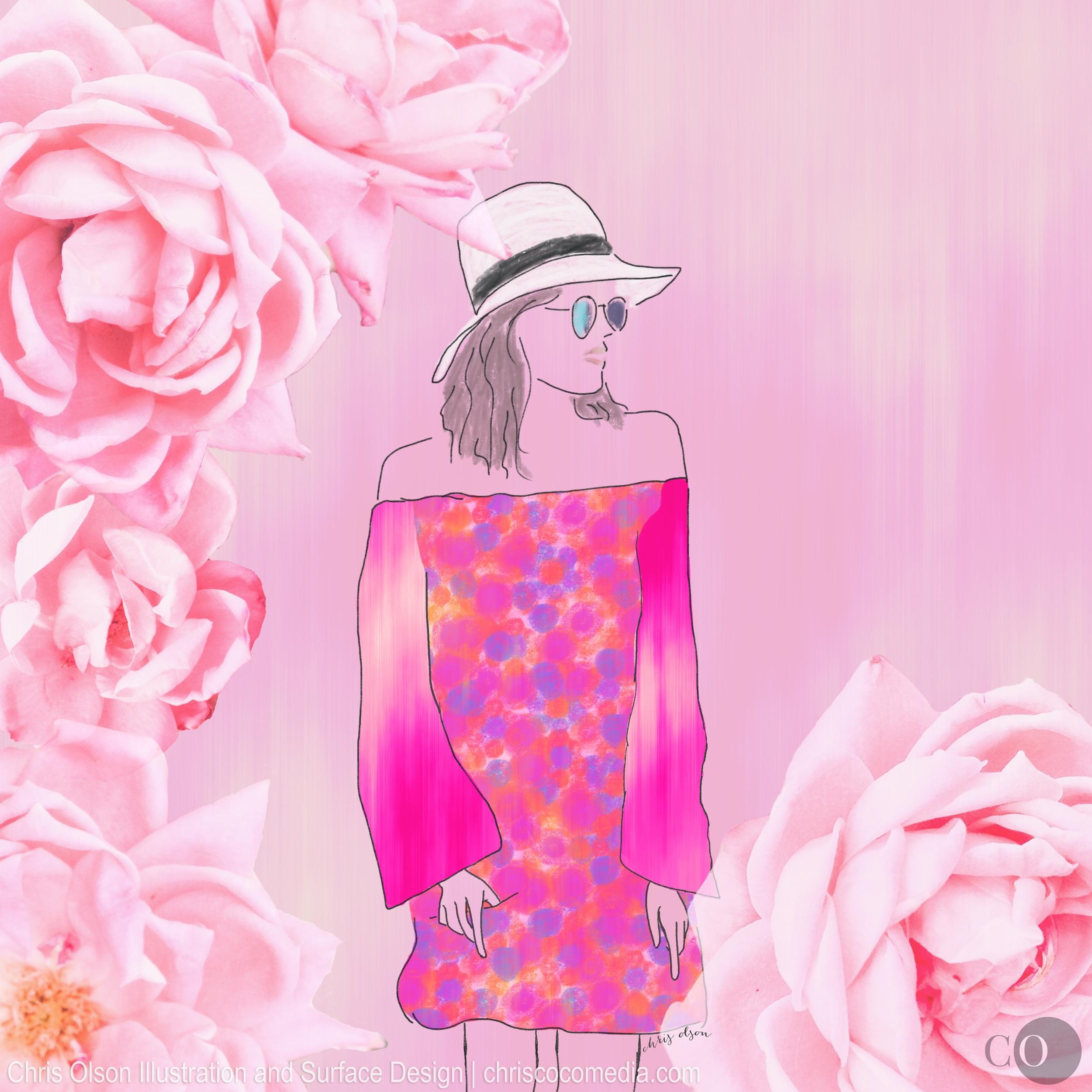 tropical prints by chris olson