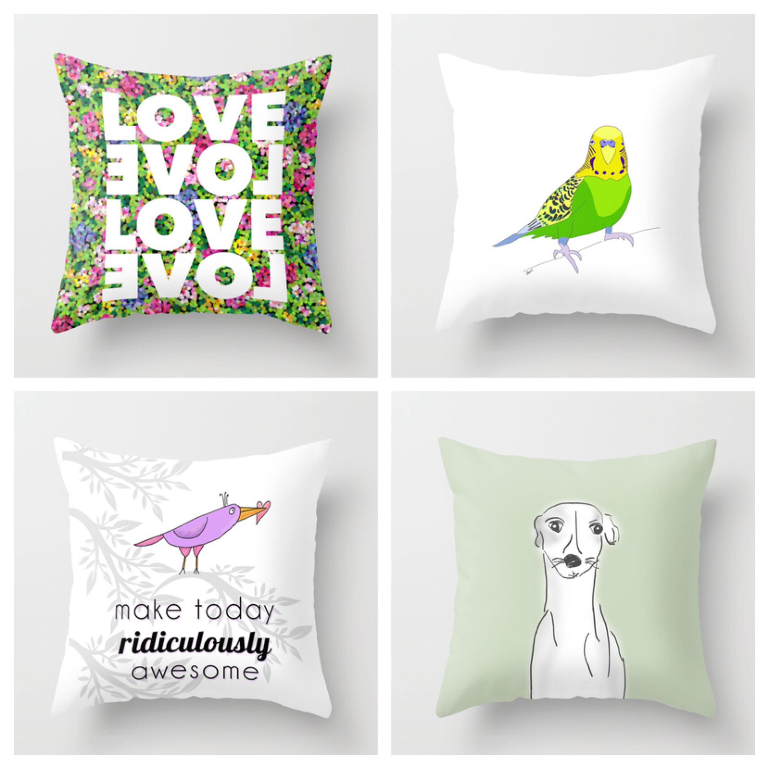 Pillows by Chris Olson at Society6