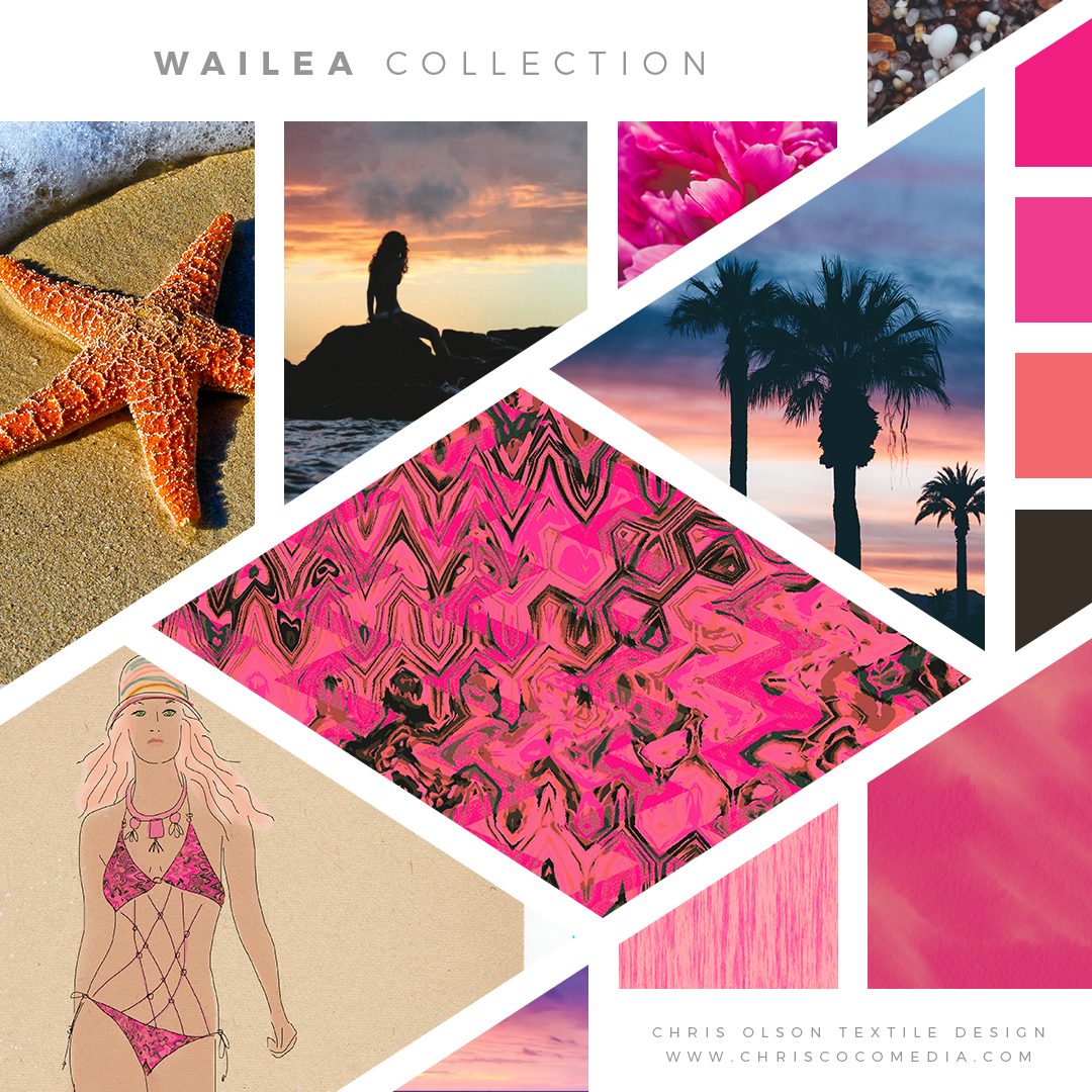 Wailea Textile Collection by Chris Olson