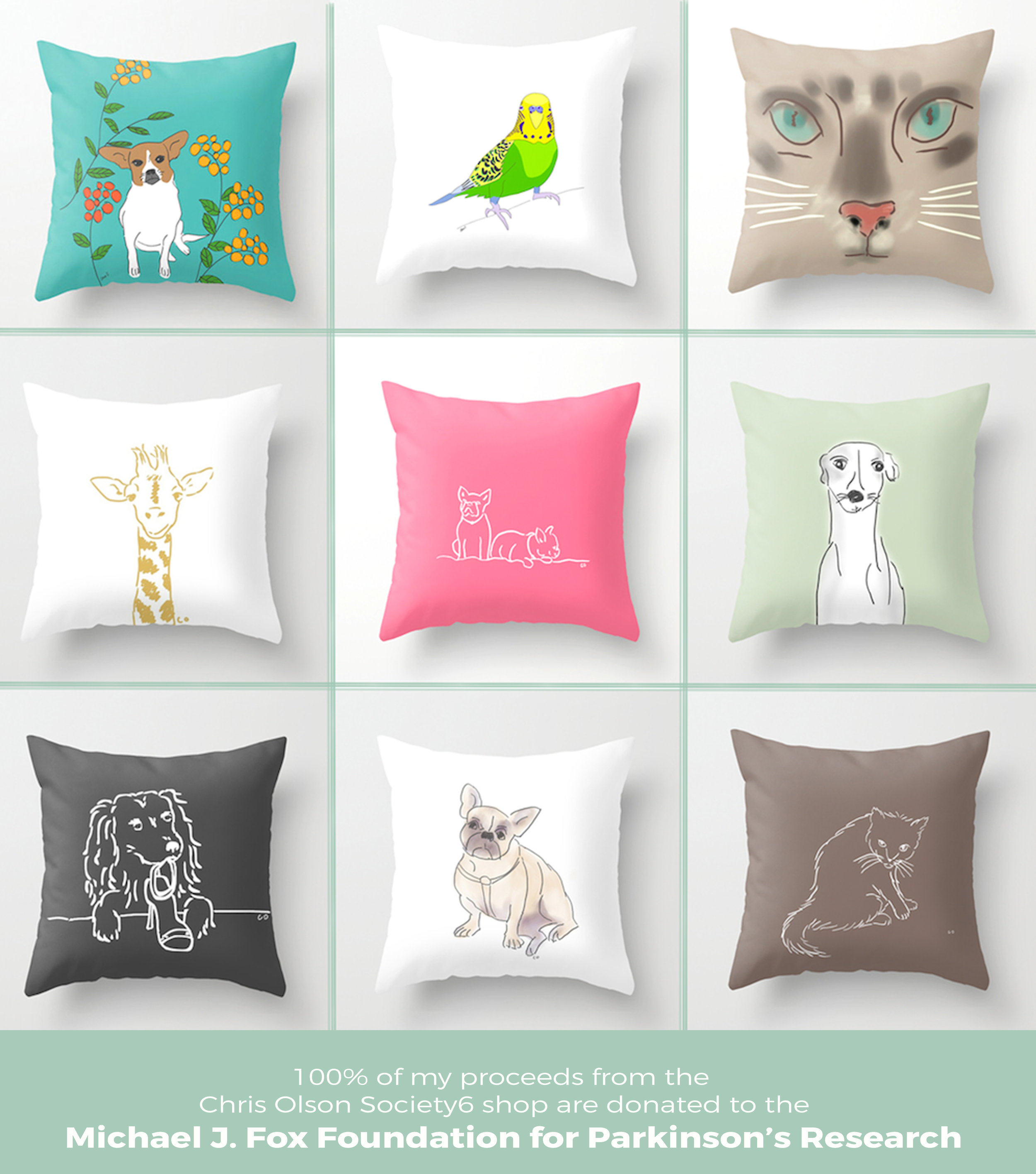 gifts that give back pillows