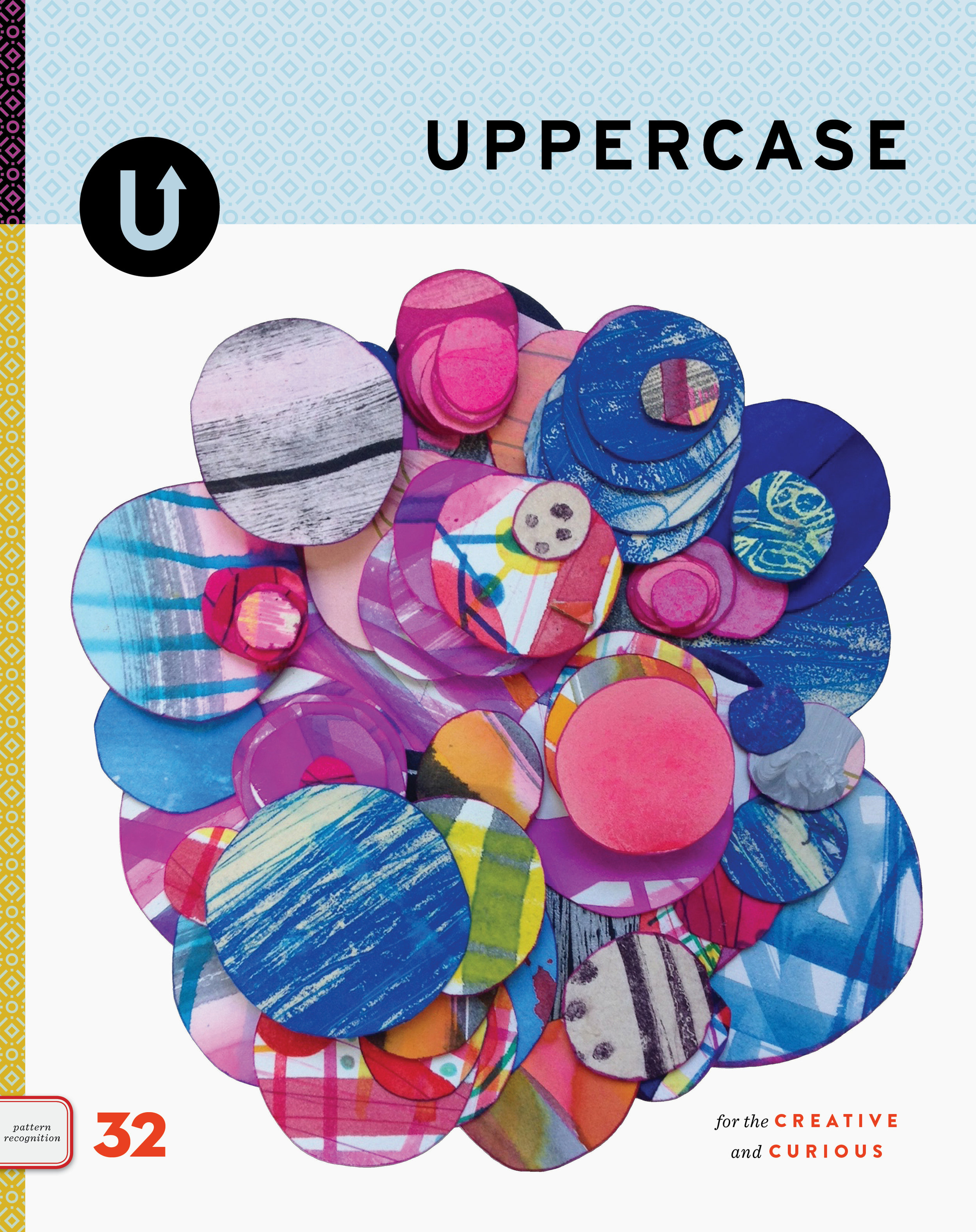 UPPERCASE Magazine, Issue 32, contains the Surface Pattern Design Guide.