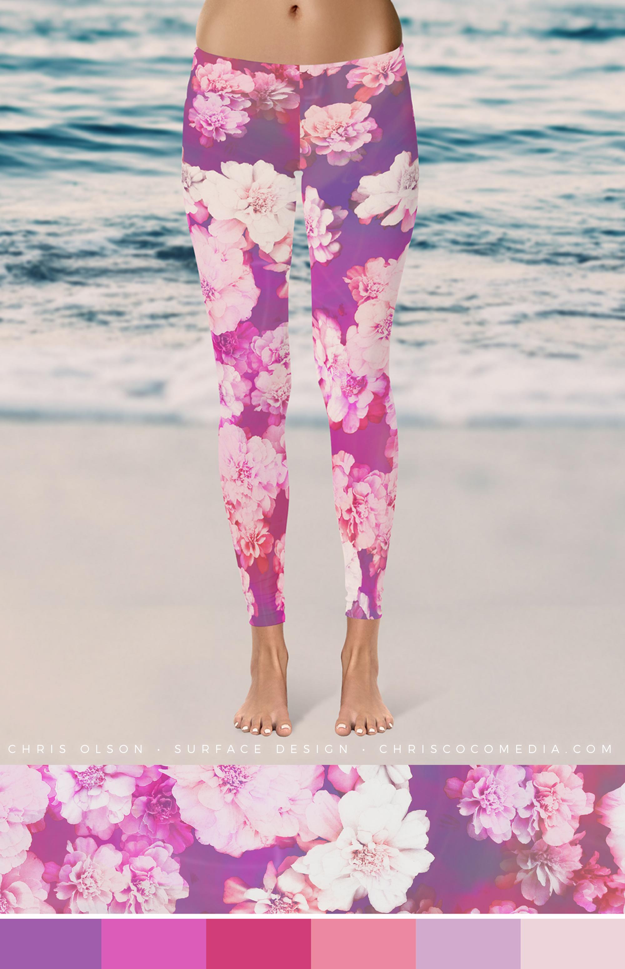 Astrid Floral by textile designer Chris Olson