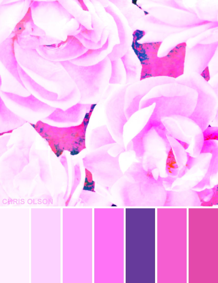 Tech Garden color palette by Chris Olson