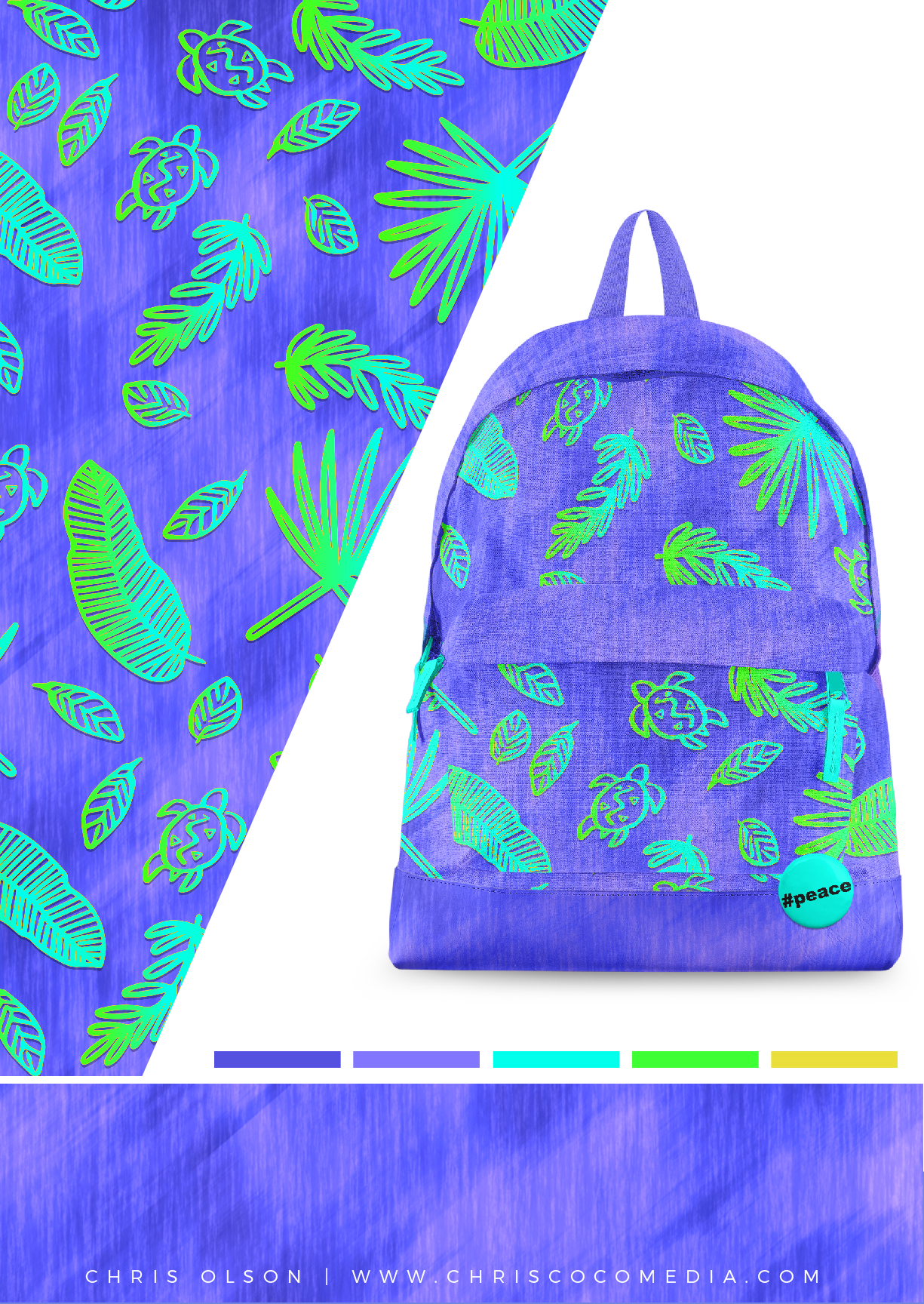 Tropical Rainforest Print