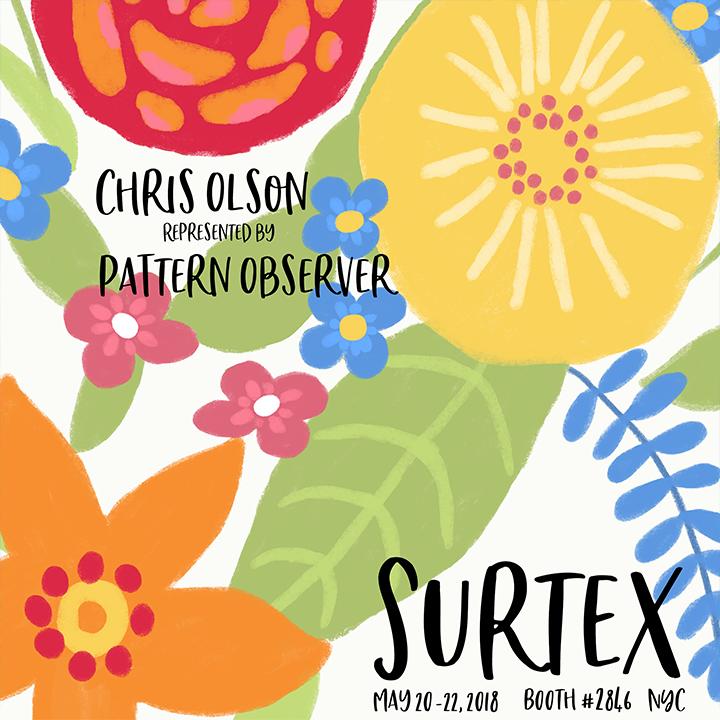 Chris Olson at Surtex