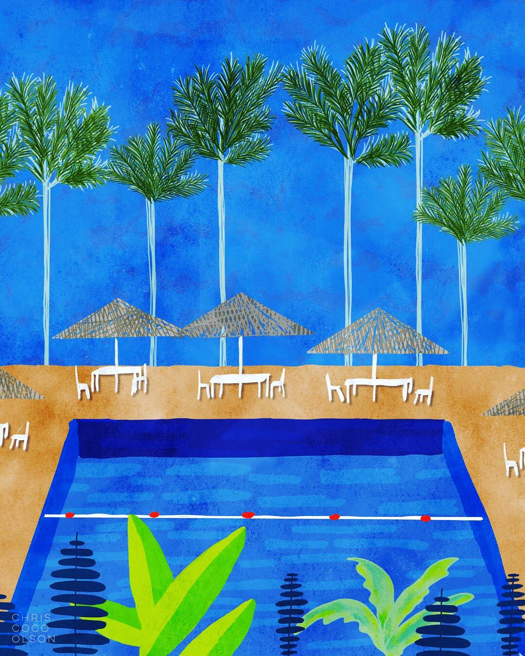 Pool illustration by Chris Olson.