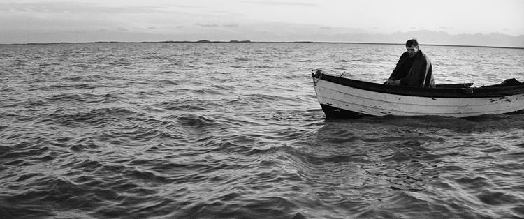 """still from """"seven boats""""."""