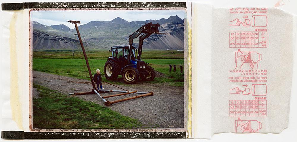 lament for a horse / process 2# / polaroid 100 / summer 2016 / h.pálmason