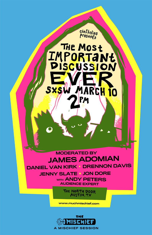 Poster by Julia Vickerman