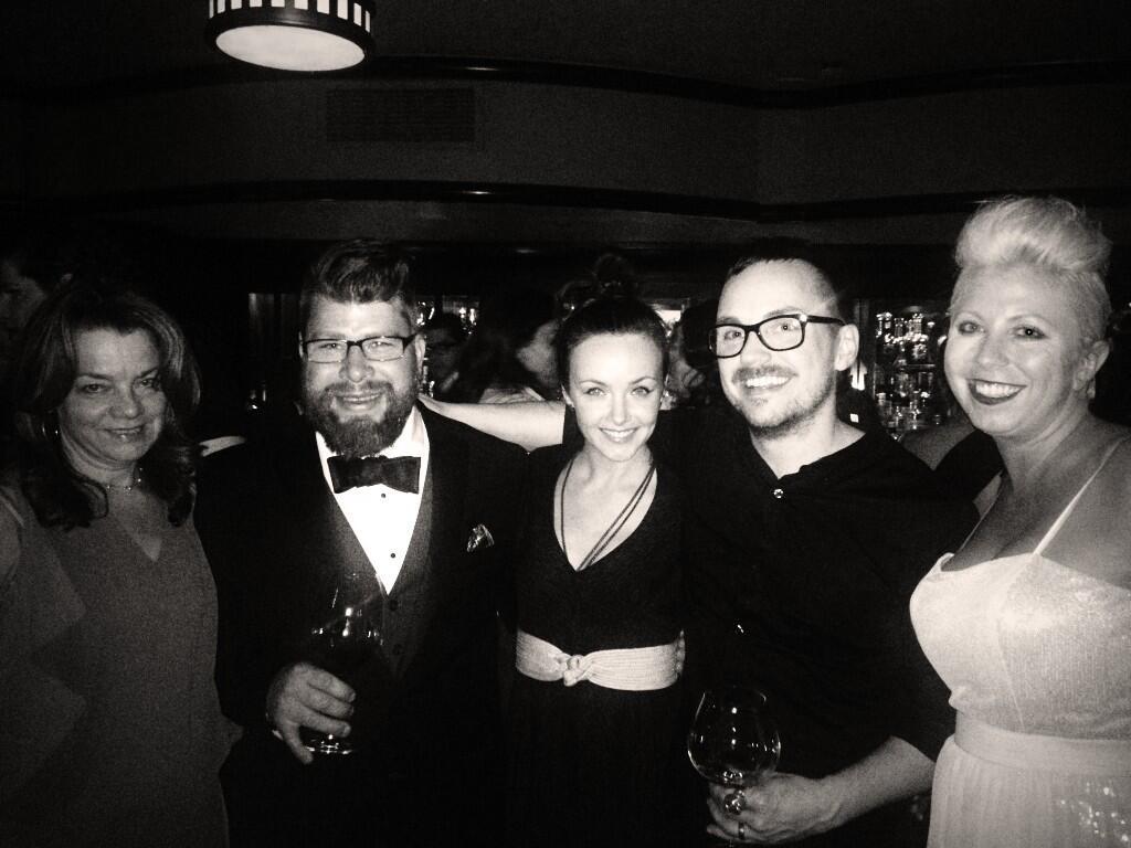 Kate Krader, Sawyer, Dieselboy, & the Wives