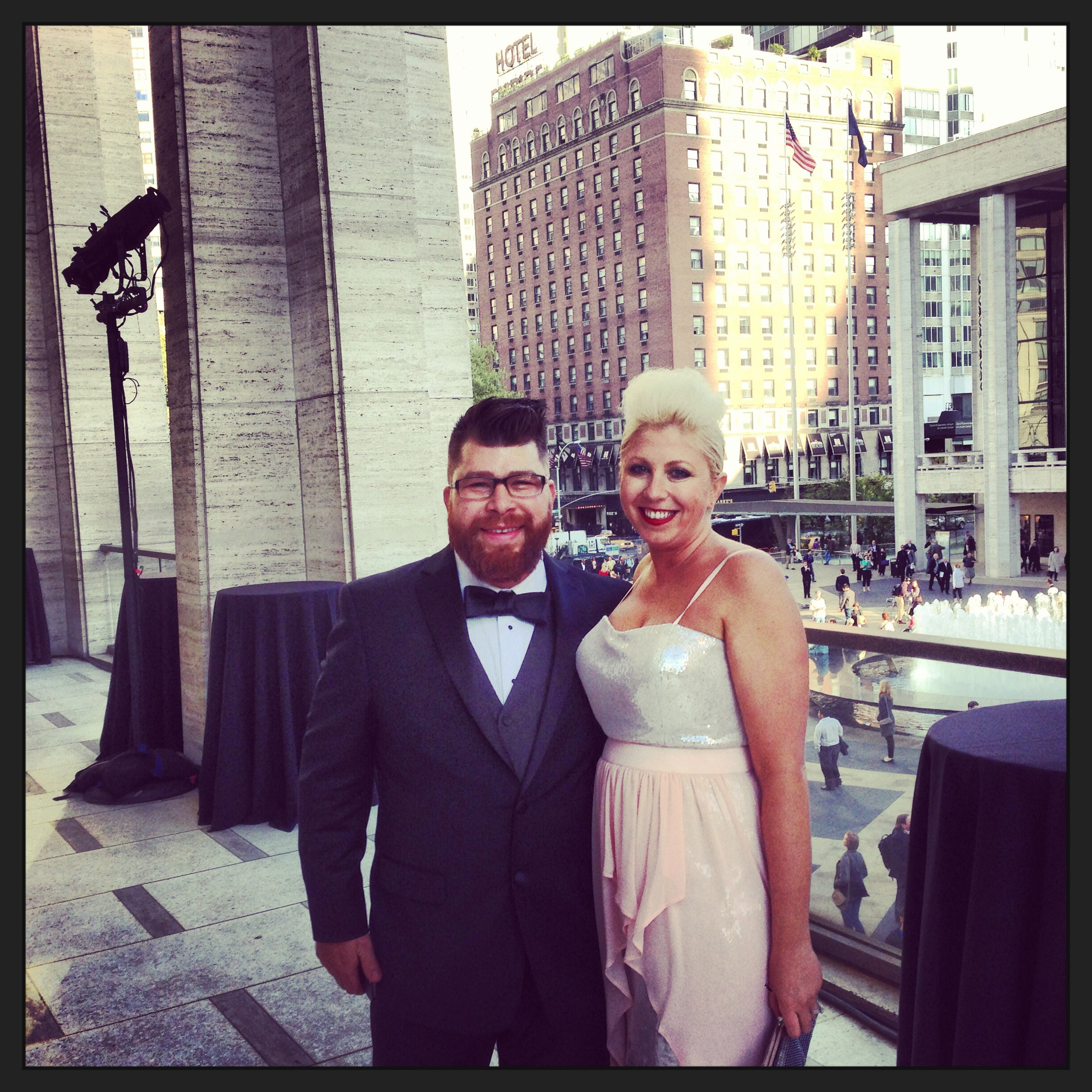 Glammed Up at Lincoln Center