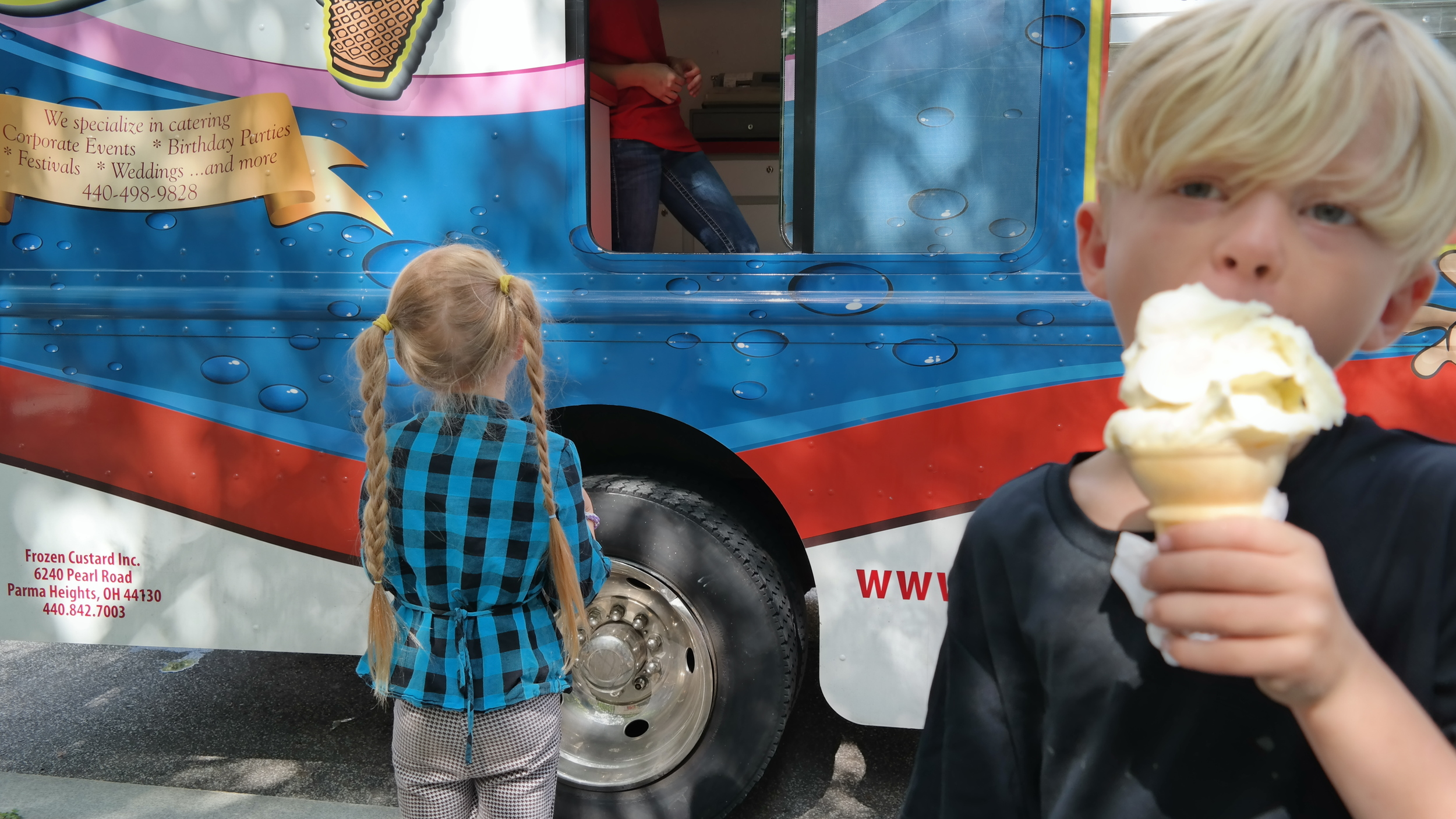 Ice Cream Trucks at the Library!