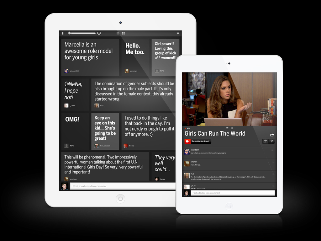 HuffPost Live for iPad