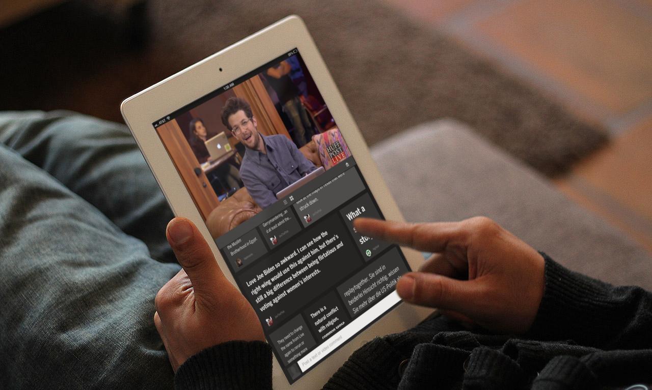 HuffPost Live for iPad