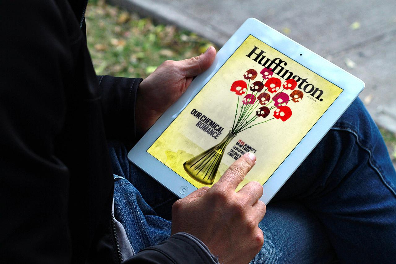 Huffington magazine for iPad