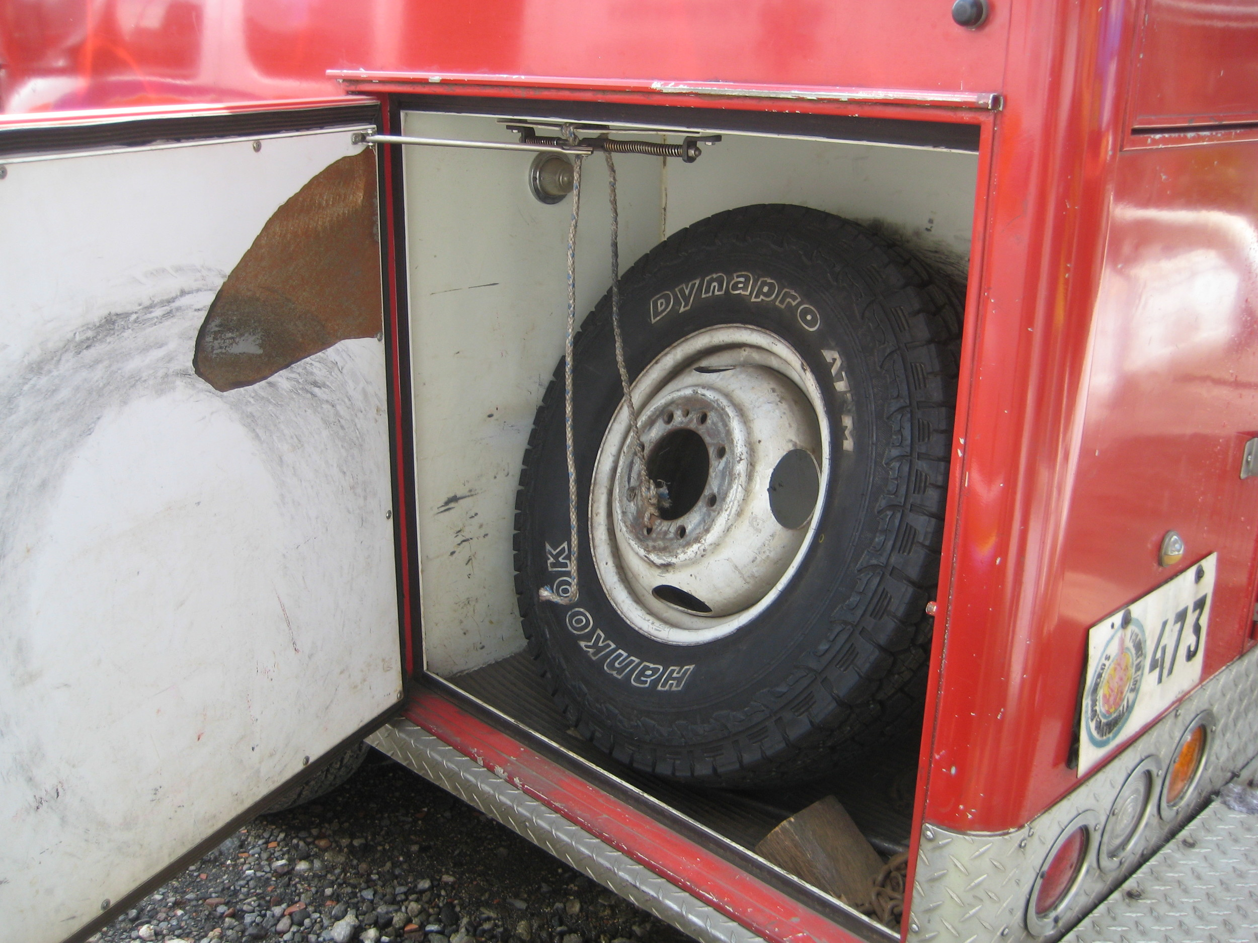 Spare tire?