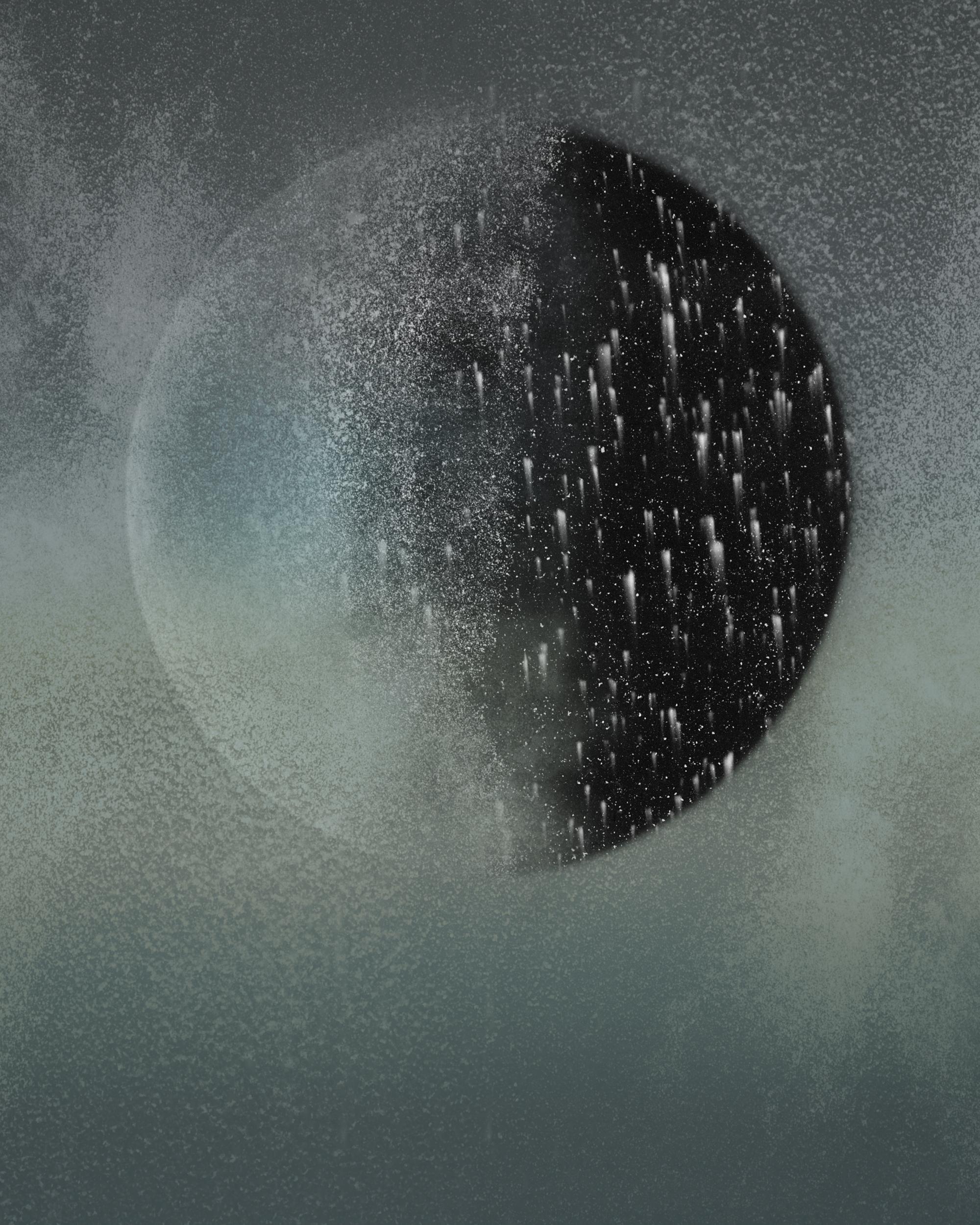 Dust landscape #9 , 2012   