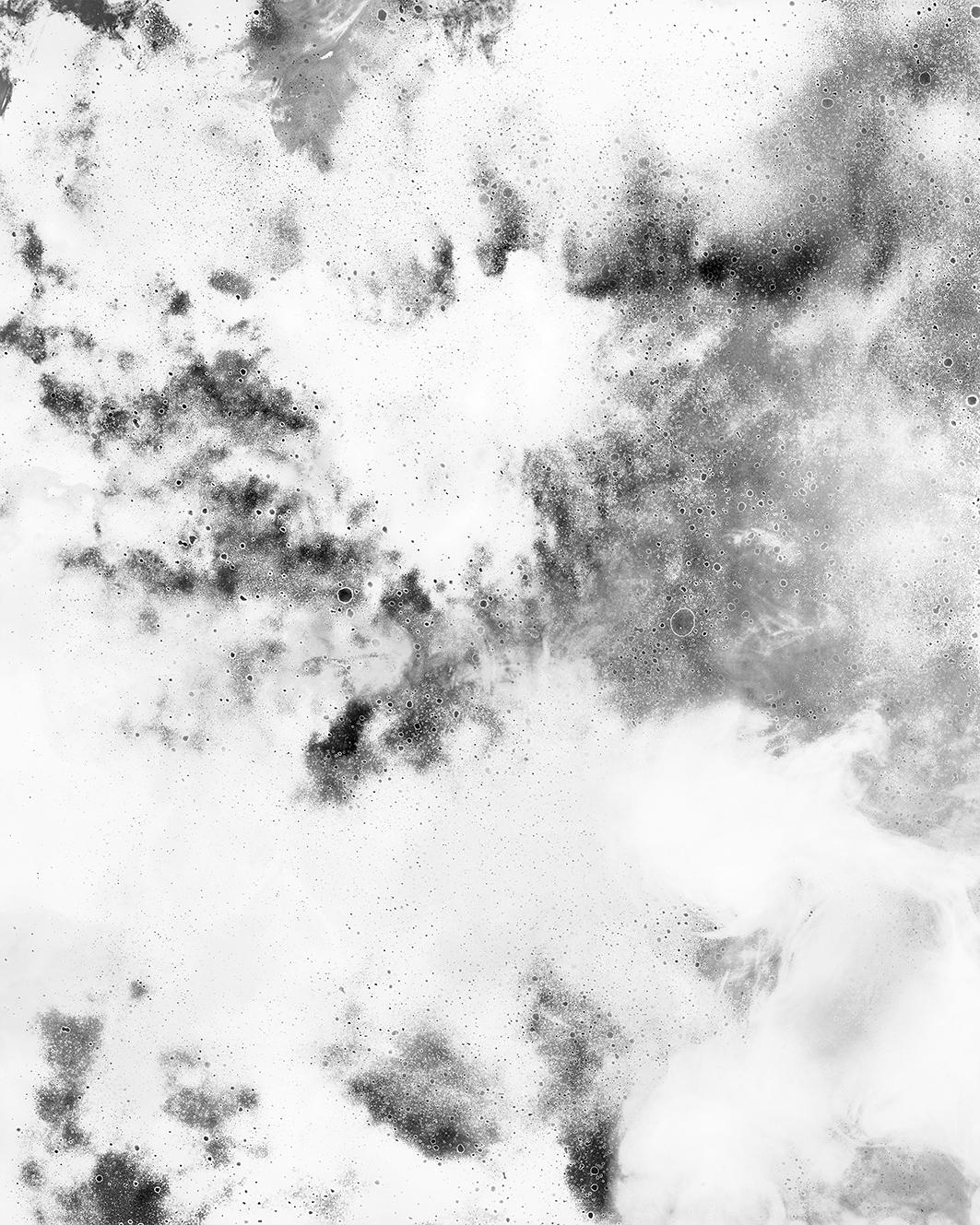 Albedo (silver and smoke),  2016-7.