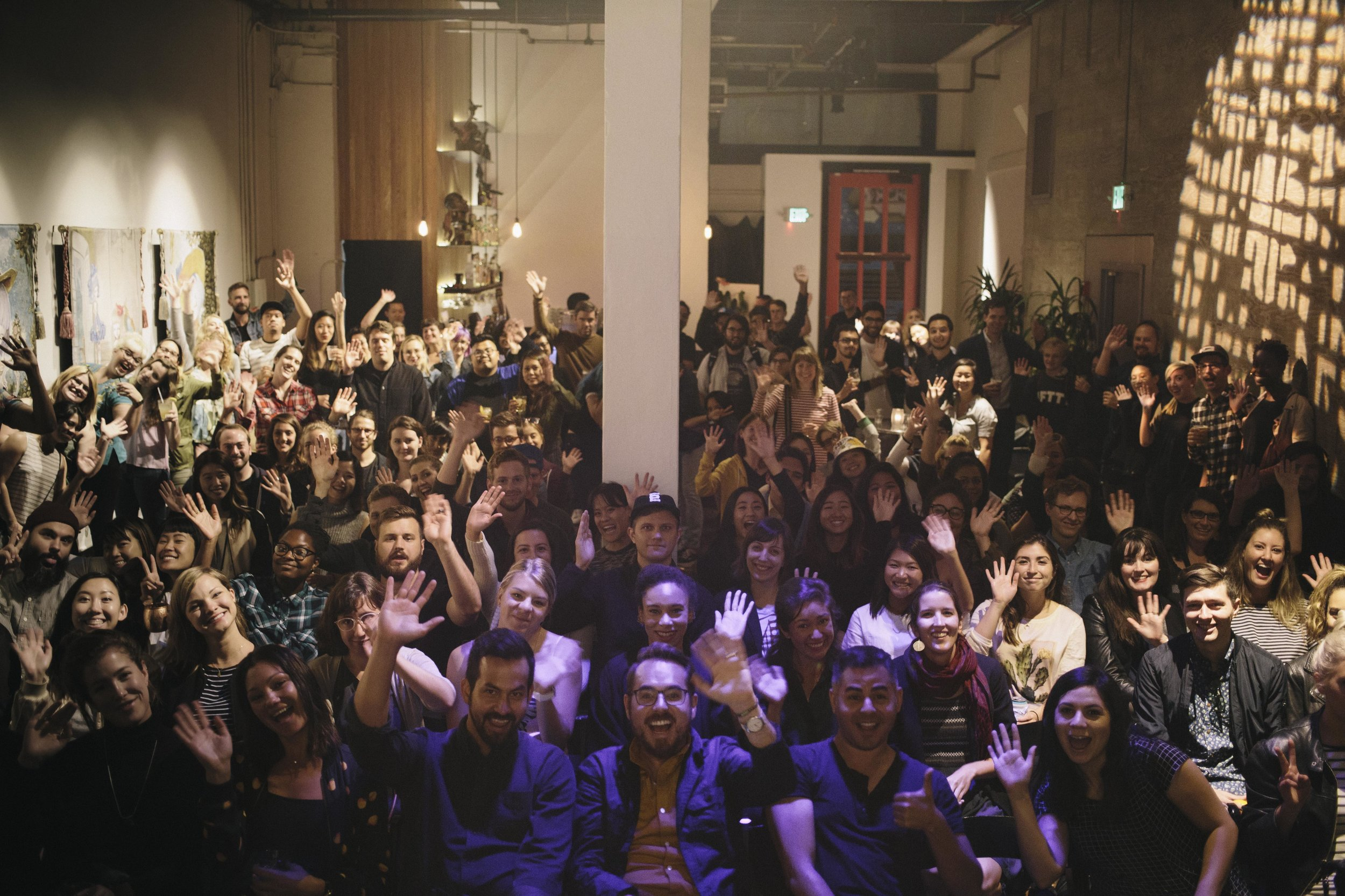 Overshare audience in San Francisco