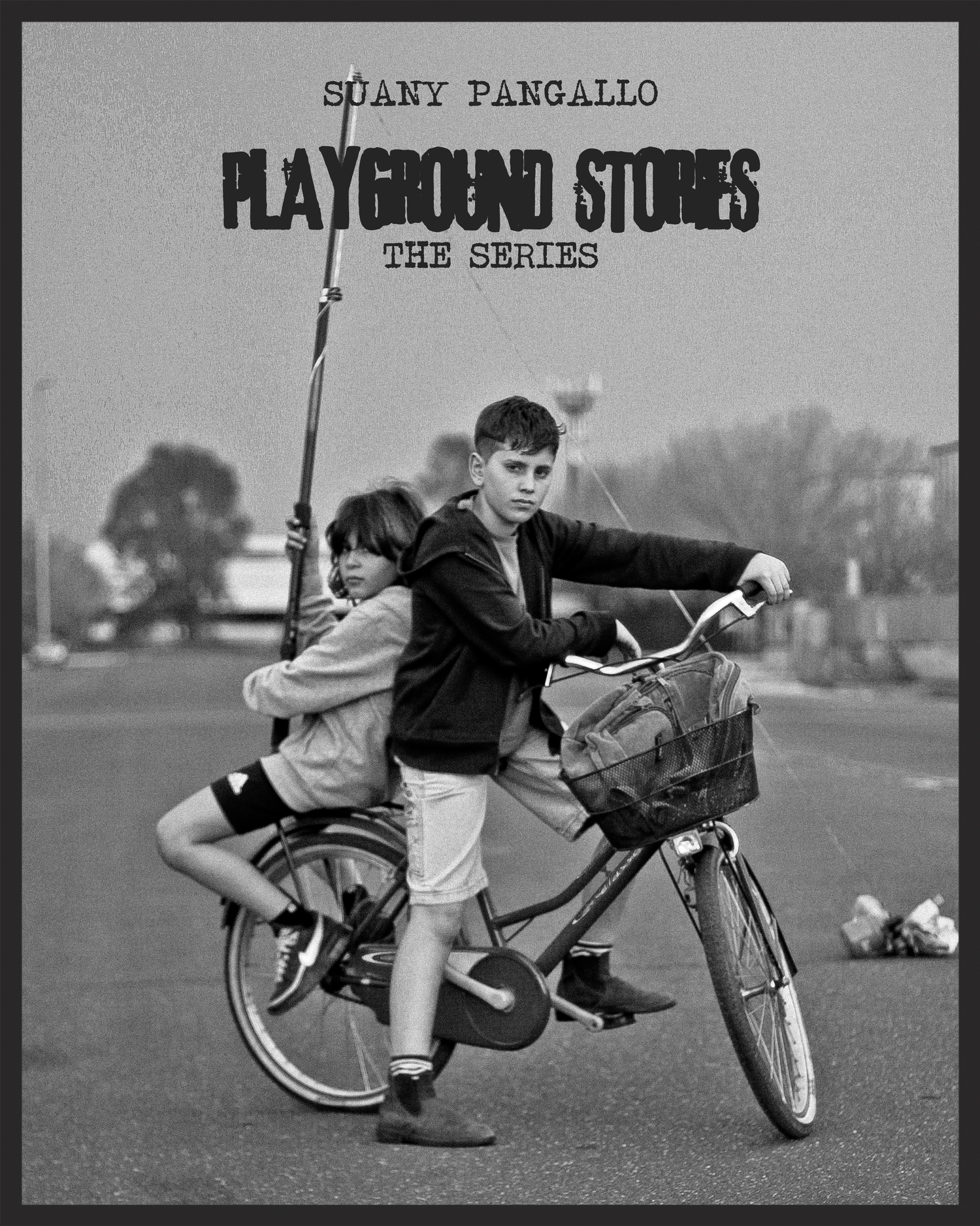 PLAYGROUND STORIES - A series of episodes about the adventures of two young boys in a science-fiction reality that take place in the very outskirts of Rome