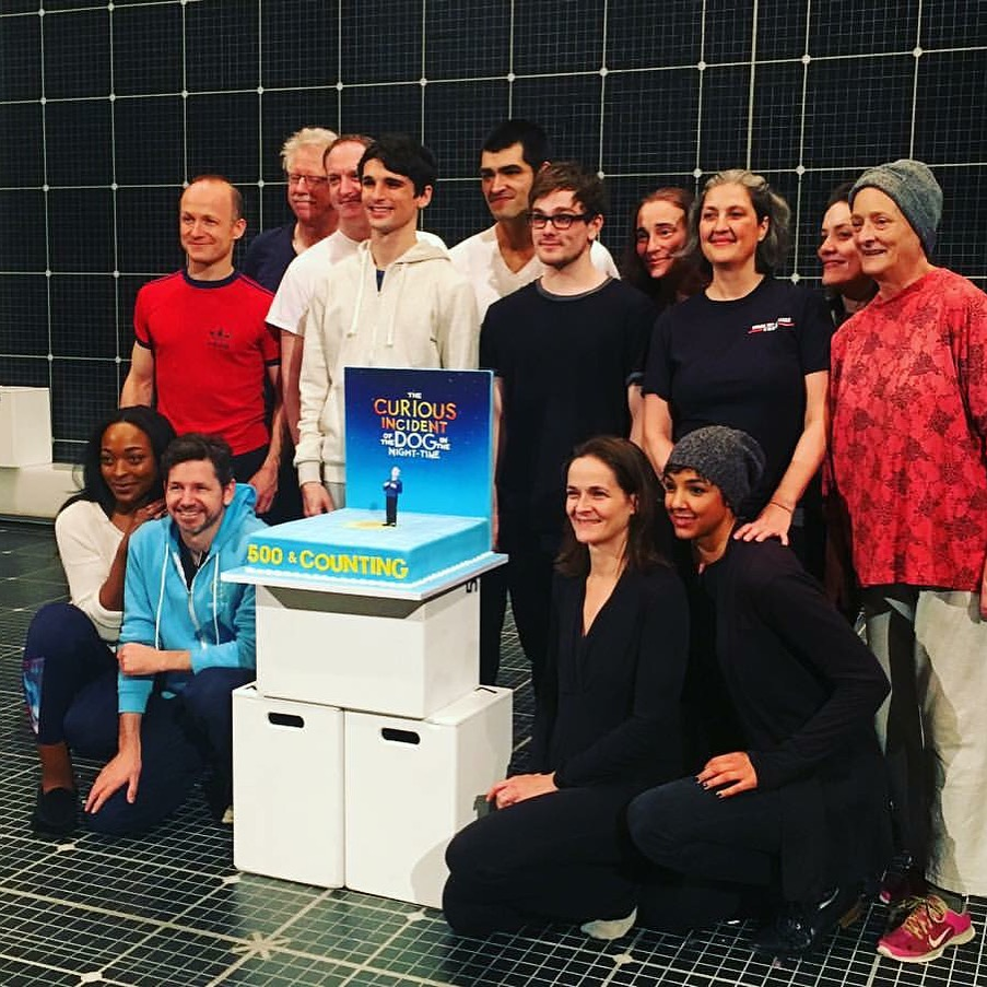 Read More:   http://playbill.com/news/article/curious-incident-marks-broadway-milestone-performance-today-375723    http://www.broadwayworld.com/article/Photo-Coverage-THE-CURIOUS-INCIDENT-OF-THE-DOG-IN-THE-NIGHT-TIME-Celebrates-500-Performances-20151216