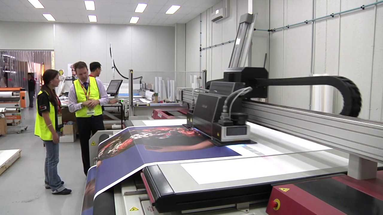Vendka business asset buyers of print and sign making equipment,