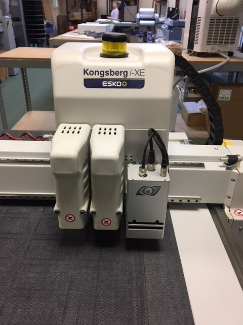SOLD Esko Kongsberg i-xe 10 Digital Cutter — Business asset