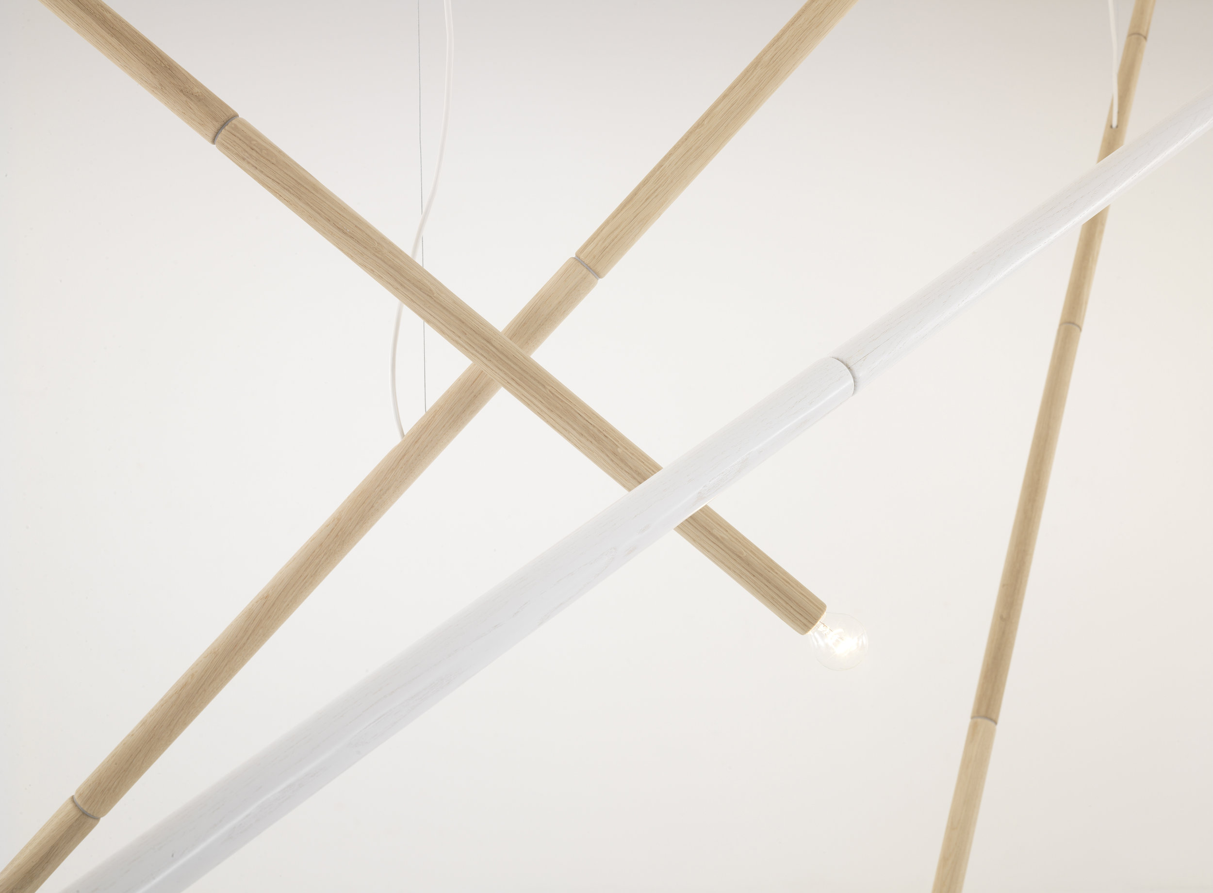 Not bamboo lamp // One-off
