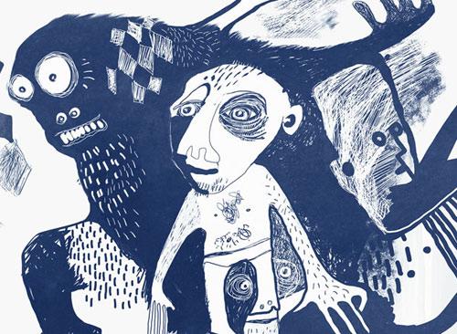 Blue Gorilla Series - Prints