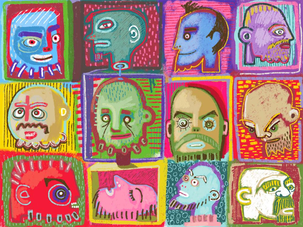 Twelve Beards