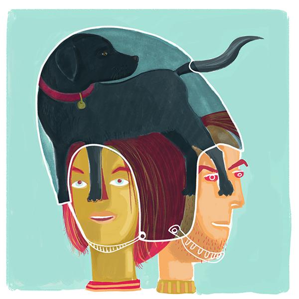 Double Dog Helmet