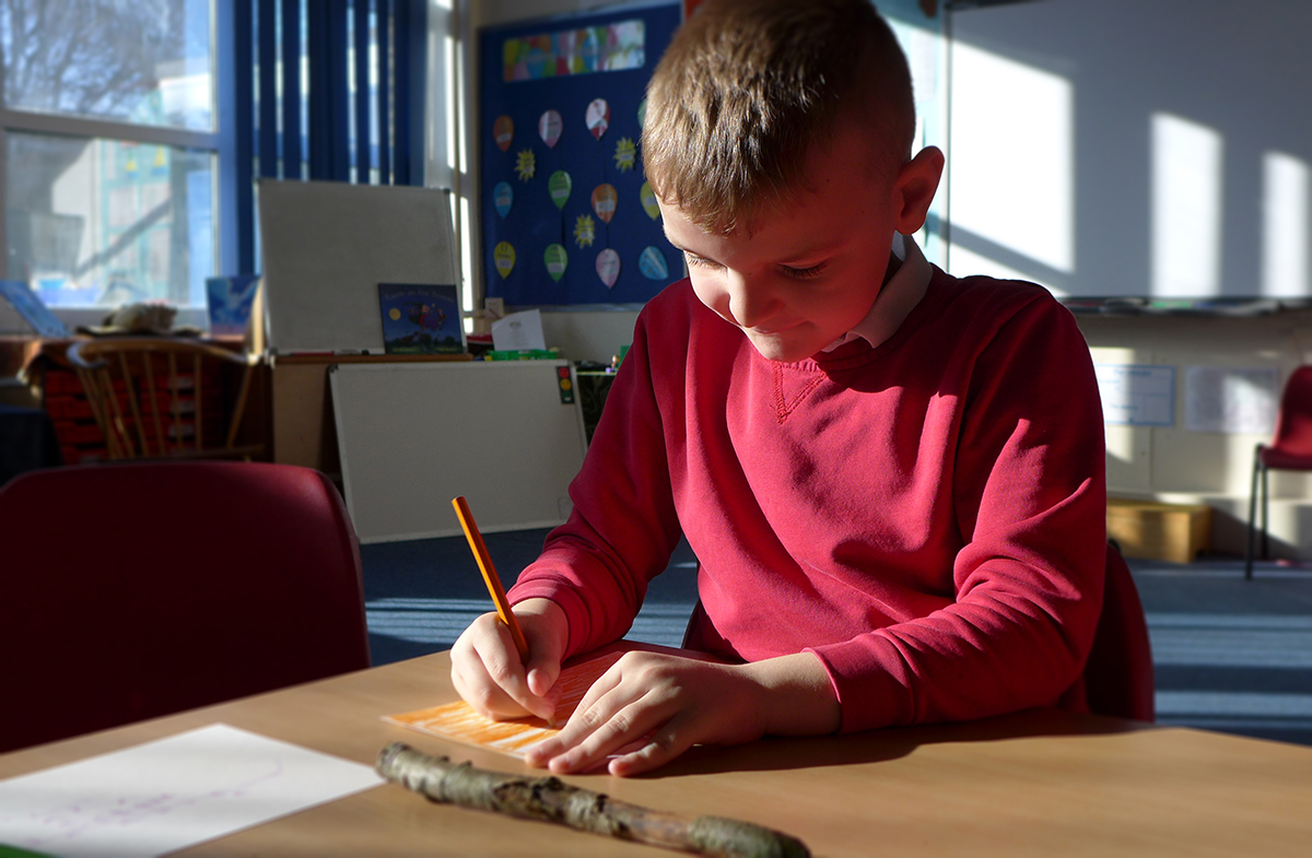 Thurcroft drawing workshop.