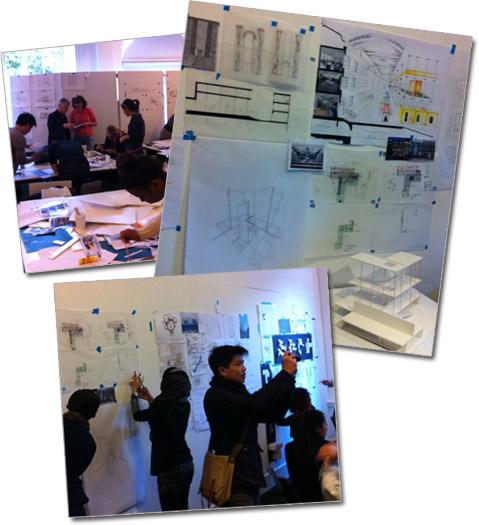 Charrette Architecture and Interior Design Competition - London 2011