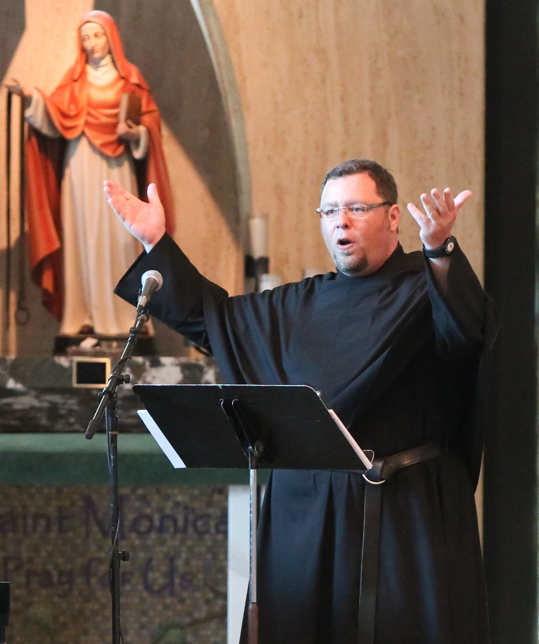 Rev. Richard Young, O.S.A. is the Director of Augustinian Mission at St. Rita of Cascia High School in Chicago, IL