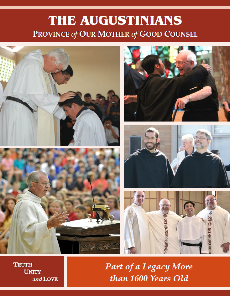 """The Augustinians won the 2013 """"Best Publication Without a Gift Envelope"""" for the 2012 Augustinian Case for Support"""