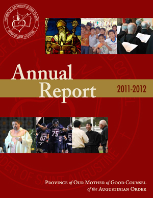 """The Augustinians won the 2013 """"Best Accountability/Annual Report"""" for the 2011-2012 Inaugural Annual Report"""