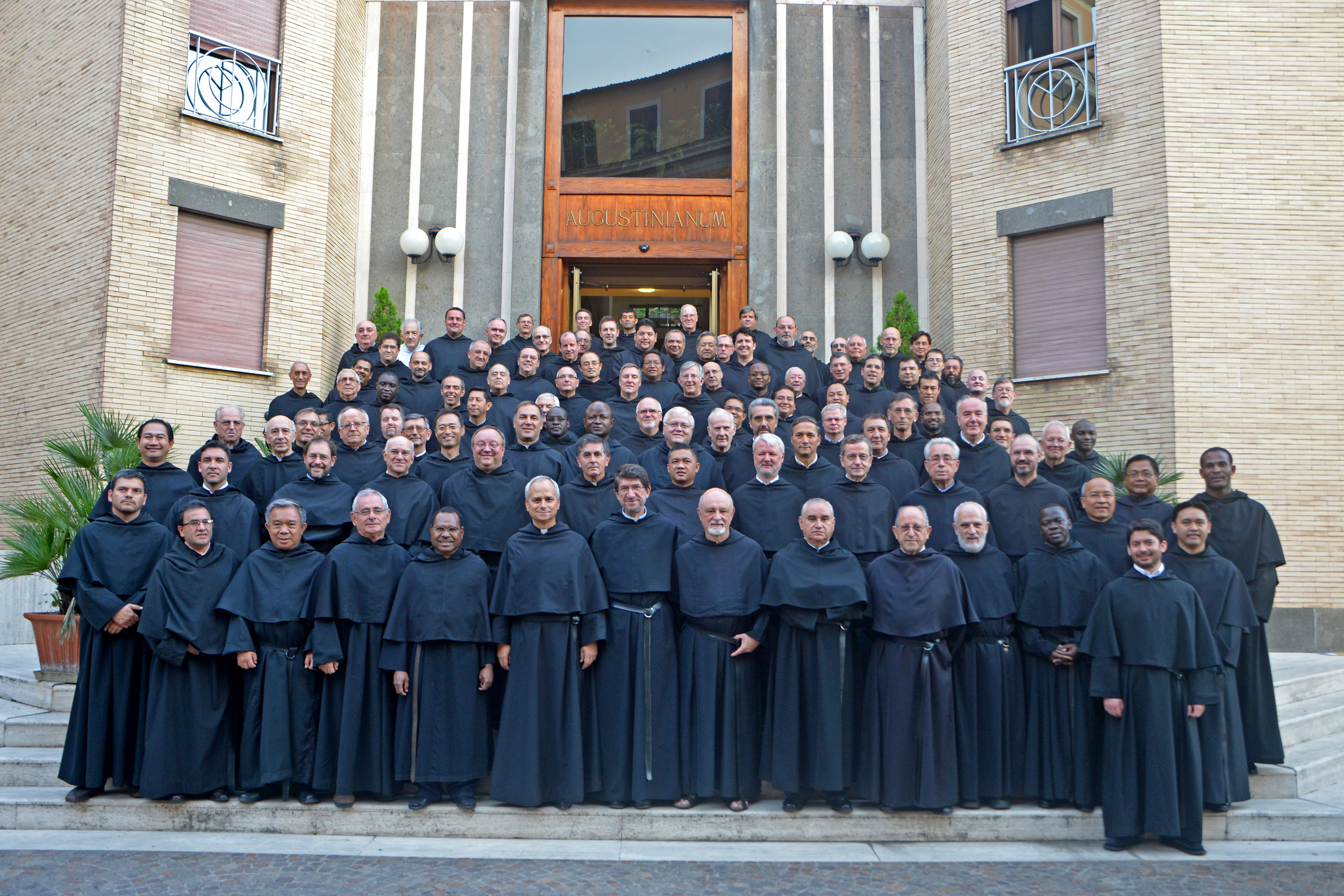 Group photo of the Augustinian General Chapter of 2013 in Rome