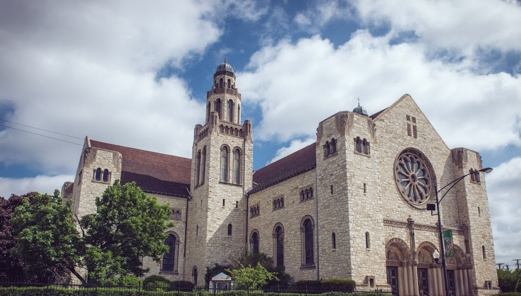 The Augustinians have served at St. Rita of Cascia Parish (above) since 1905