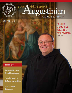 Click the image above to download the Winter 2014 of The Midwest Augustinian