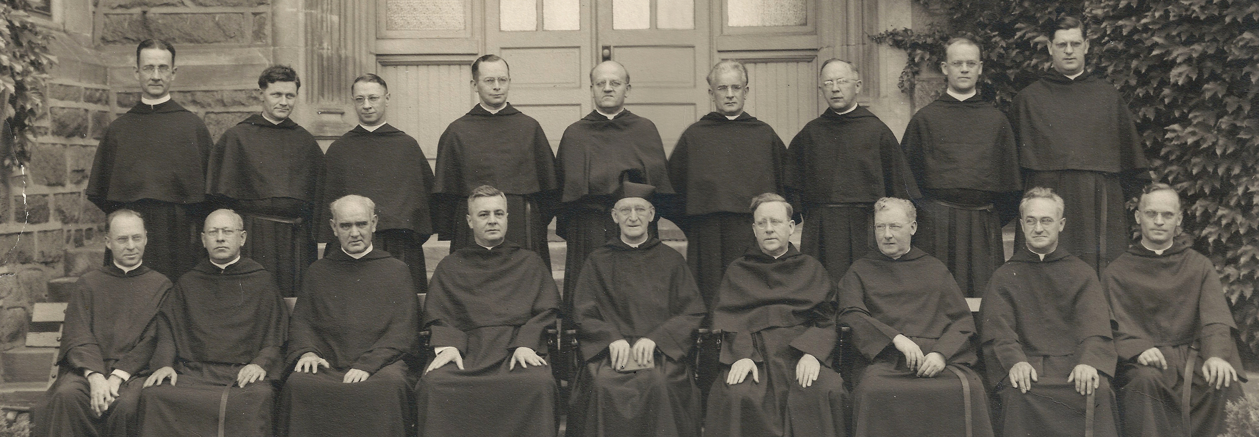 The First Provincial Chapter meeting for the Province of Our Mother of Good Counsel, held in Villanova, Pennsylvania in 1941