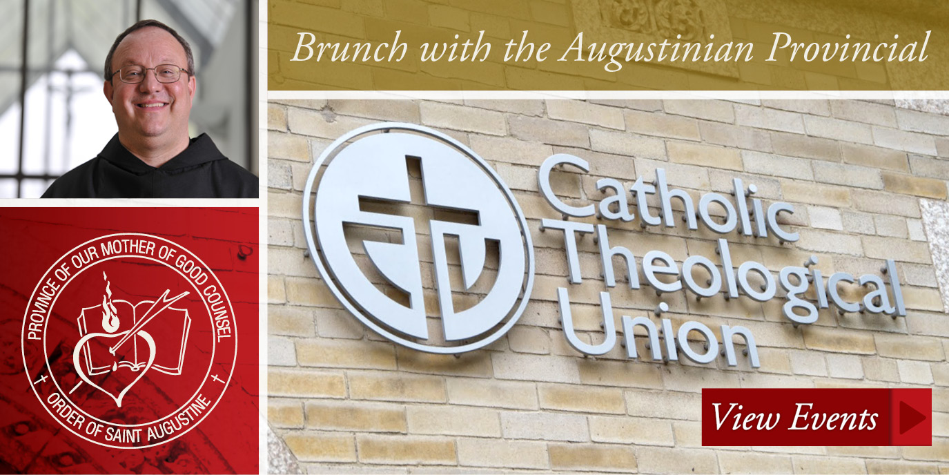 Brunch with the Augustinian Provincial