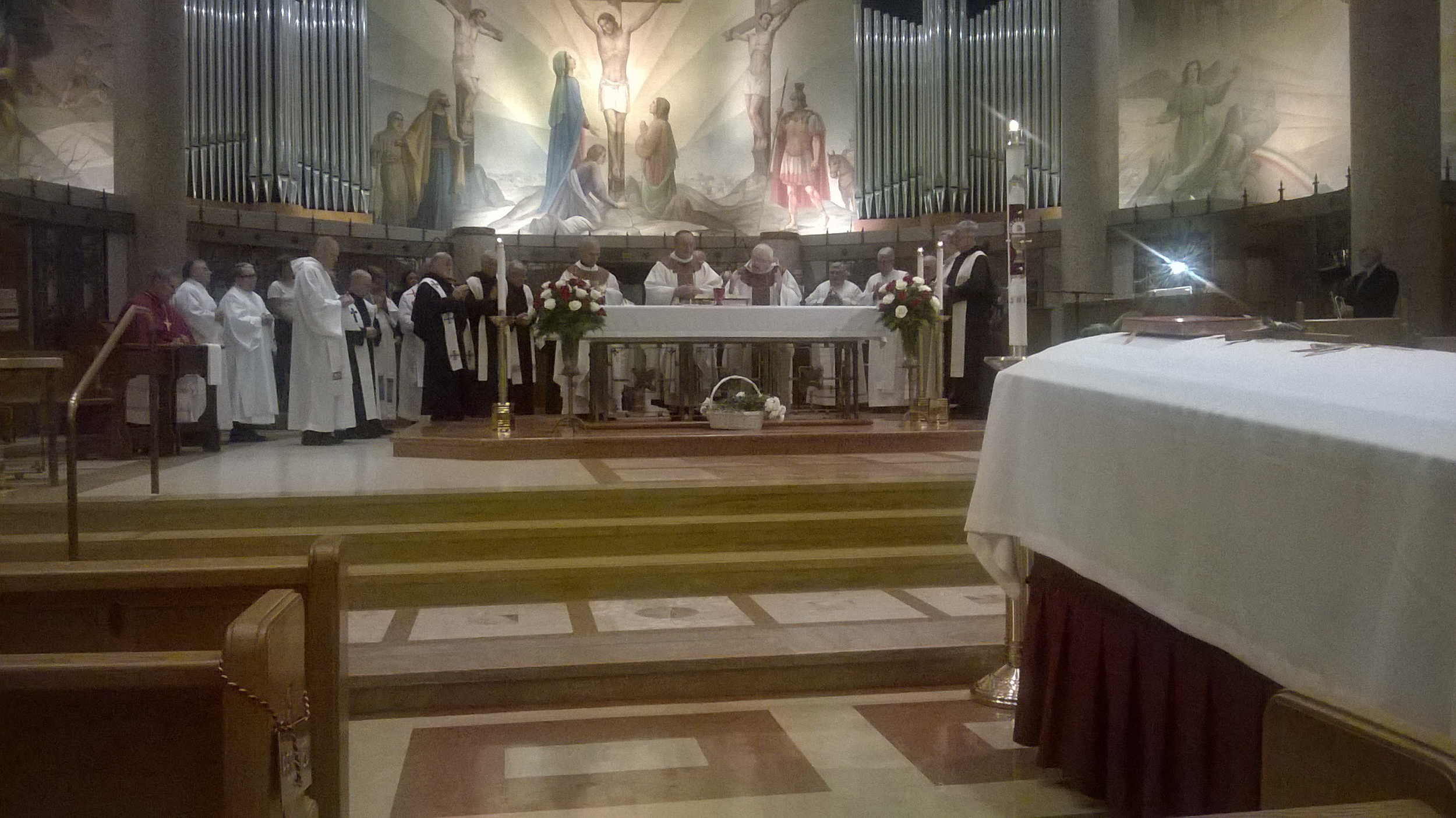 FUNERAL MASS FOR FR. DAVID L. BRECHT, O.S.A., AT ST. CLARE OF MONTEFALCO PARISH IN GROSSE POINTE PARK, MICHIGAN