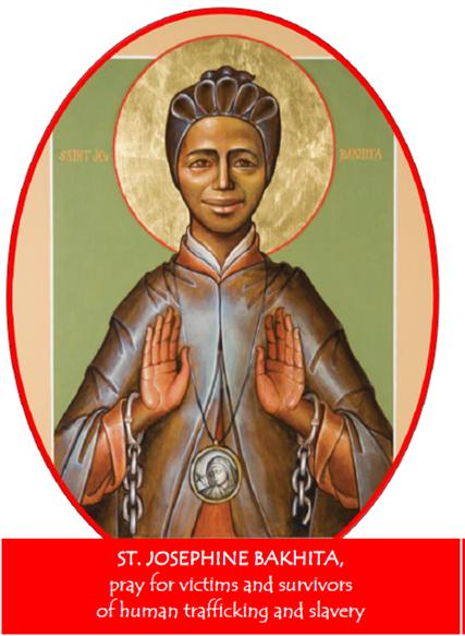 St. Josephine Bakhita, patron saint to end human trafficking