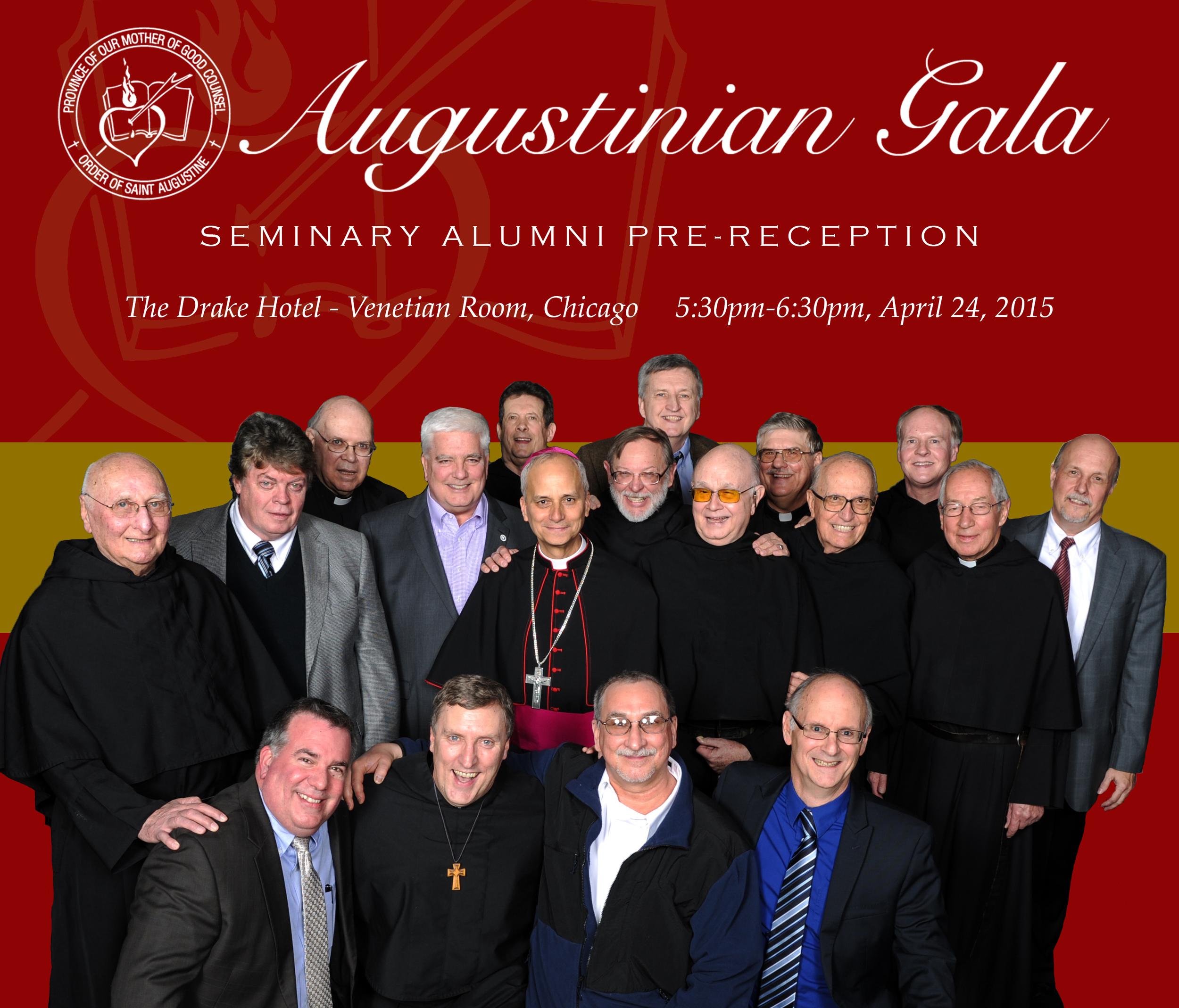 Augustinian Seminary Alumni Pre-Reception