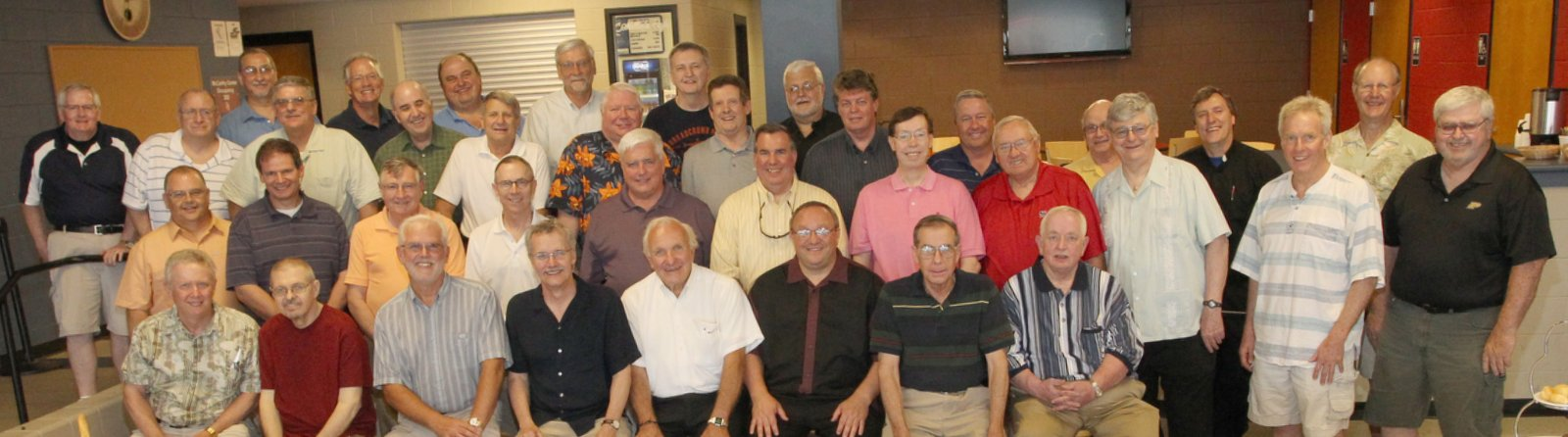 Augustinian Seminary Alumni Picnic 2013 at St. Rita High School, Chicago. Click the image to zoom in.