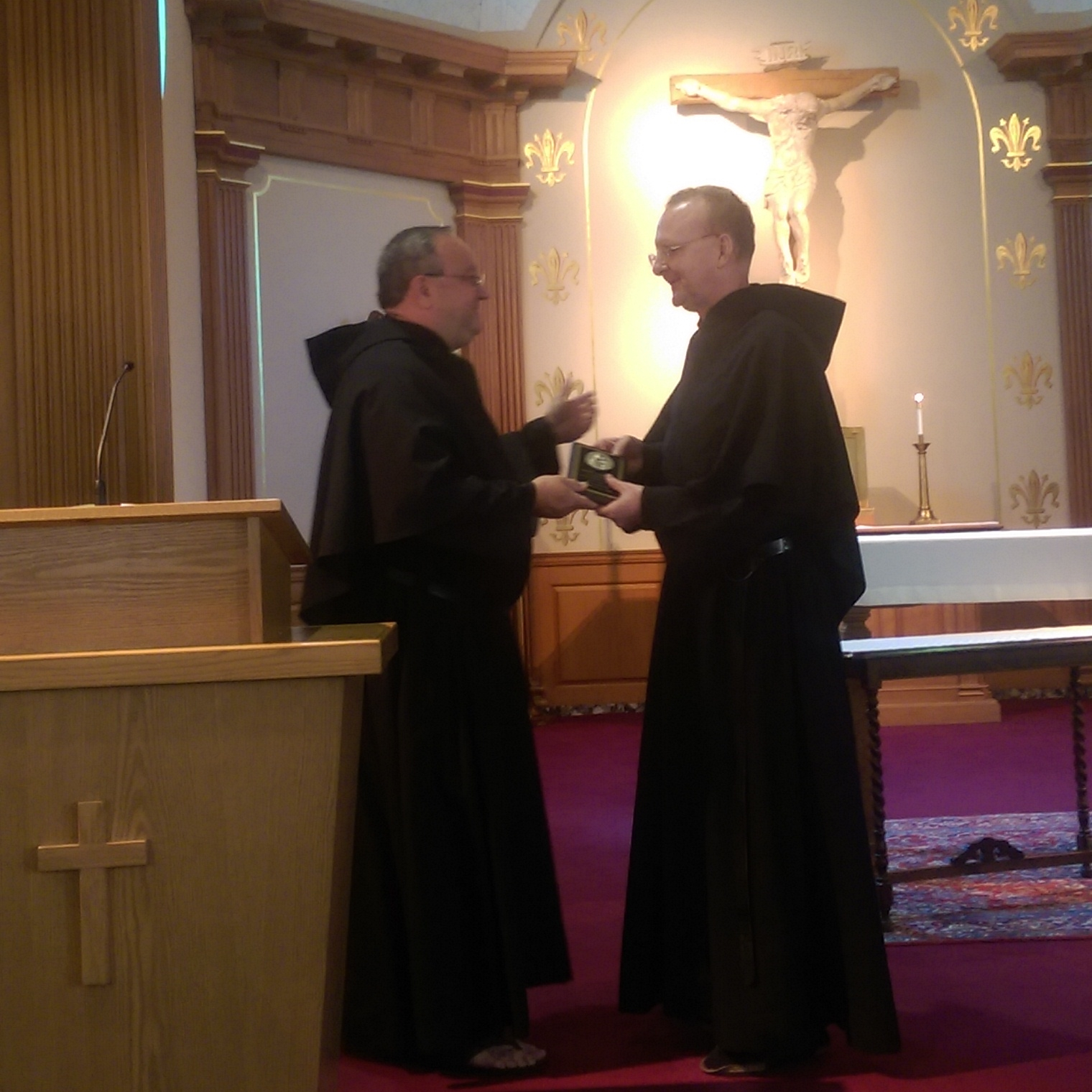 Fr. Marty Laird, OSA