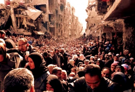 Refugees fleeing Syria constitute the greatest exodus of refugees since World War II