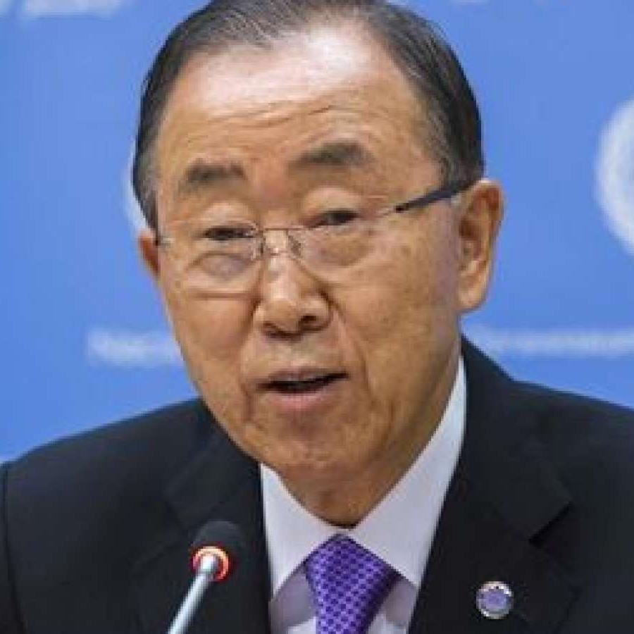 Ban Ki Moon of United Nations